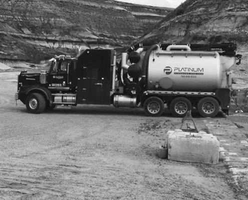 Hydrovac Truck Industrial